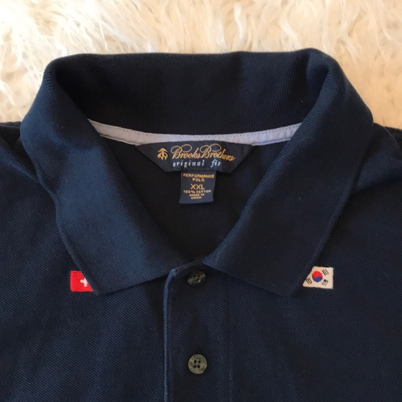 6fd3710f Brooks Brothers Other - BROOKS BROTHERS NAVY BLUE INTERNATIONAL FLAG POLO